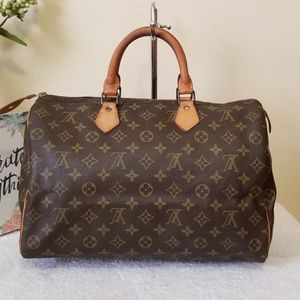 LV speedy 35 vintage authentic